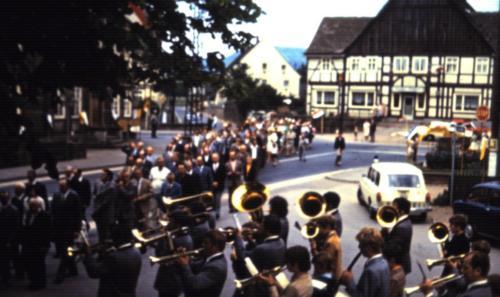 1970 Prozession