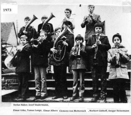 1973 Nachwuchs
