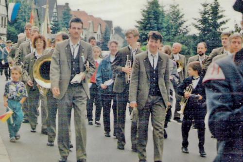 Musikfest Spielmannszug 1991 (3)